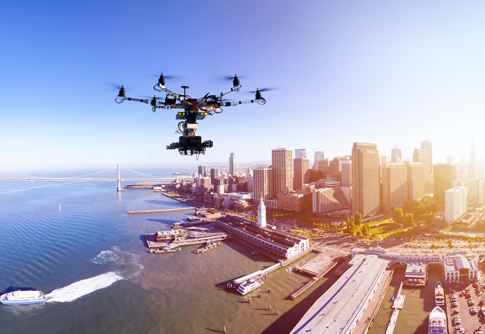 Tagging IoT Data in a Drone View