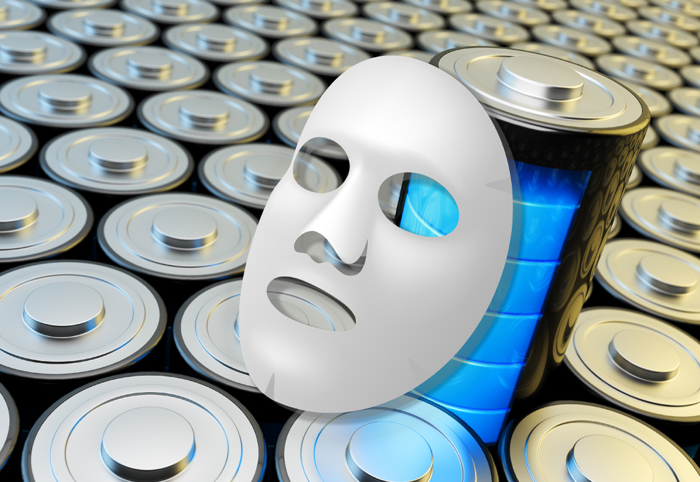 """Facial-Mask"" Technology for More Efficient Batteries"