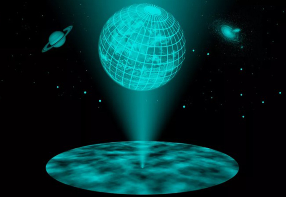The other chapter in Space Science: Is our world a hologram?